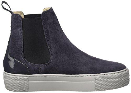 Marc Opolo Damen Flat Heel Chelsea 70814195001309 Boots Grau (grigio Scuro)