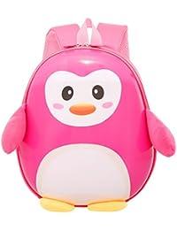 Uniqstore niños Mochila linda del pingüino Mochila Aprendizaje niños escolares Bolsa Niños Niñas Escuela Mochila