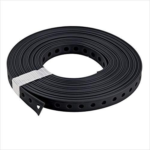 Stabilo-Sanitaer Montagelochband 27 mm gerade Kanten 10m kunststoffummantelt Lochband Montageband für Rohre Befestigungsmaterial Montagematerial