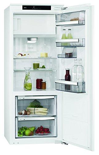 AEG SFE81436ZC Kühlschrank / 115 l Kühlschrank / 14 l Gefrierfach / 59 l 0 °C-Kaltraum für langanhaltende Frische / A+++ / sparsamer Einbaukühlschrank mit Eisfach und Glasablagen / H: 140 cm / weiß