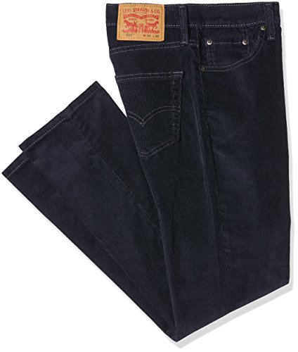 Levi's Men's 511 FIT Nightwatch Blue 14W Cord Slim Jeans, Wt 2036, 29W/34L Levis Cord Jeans