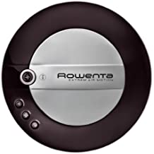 Rowenta Extreme Air Motion Iconic Black - Robot aspirador (flujo de aire 6 l/