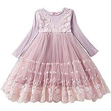 Vestidos niña, ❤ Amlaiworld Vestidos de Fiesta de Tul de Princesa de Encaje de