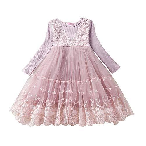 Togelei Kinderkleidung Kleinkind Kinder Baby Mädchen Spitze Blumen Prinzessin Tulle Party Pageant...