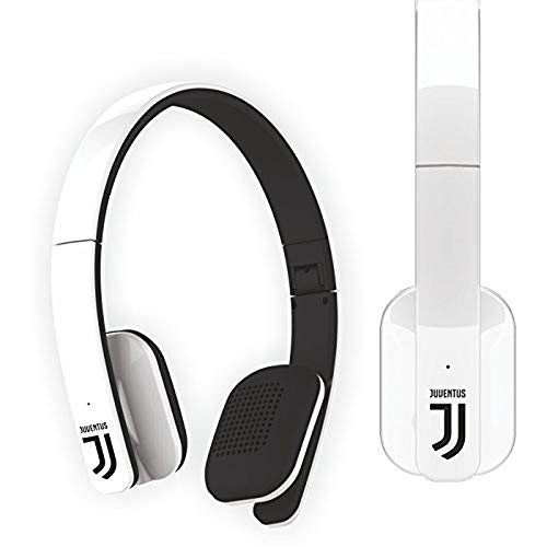 Cuffie Juventus Bluetooth con Microfono senza Filo Multimedia Headphones