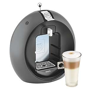 Krups KP5000 freestanding Fully-auto Pod coffee machine 1.3L Black,Grey coffee maker - coffee makers (Freestanding, Pod coffee machine, 1.3 L, Coffee capsule, 1500 W, Black, Grey)