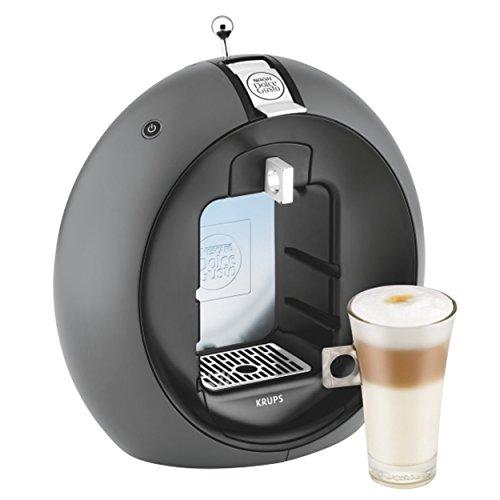 Krups Nescafé Dolce Gusto Circolo Kaffeekapselmaschine, KP 5010, manuell, Charcoal Grey