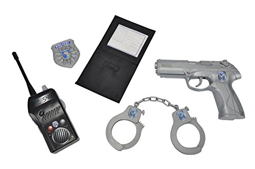 Simba 108102669 - Equipamiento básico de policía de Juguete [Importado de Alemania]