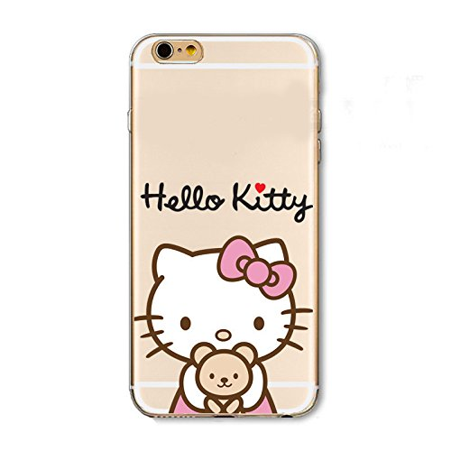 Hello Kitty iPhone 6 (4.7 Zoll) Handy Cover Schutzhülle Handyhülle Cover Schutzhülle Handy Cover (Model 4)