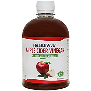 HealthViva Apple Cider Vinegar - 500 ml: Amazon.in: Health