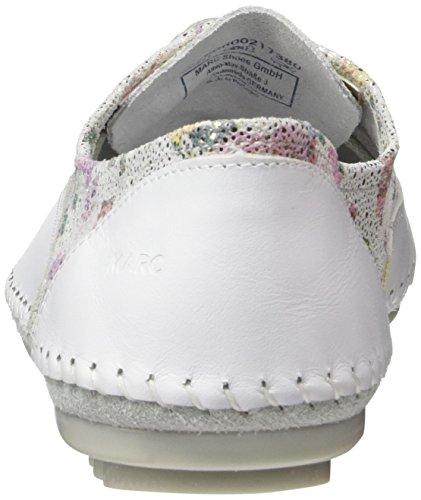 Scarpe Da Donna Ladies Luna Derbys Bianco (bianco-217)