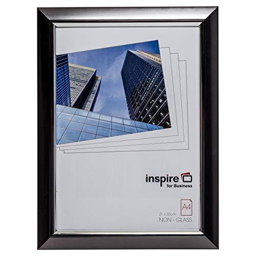 The Photo Album Company Réf A4PEL-SMK Cadre Façade plexiglas Gris A4 (Import Royaume Uni)