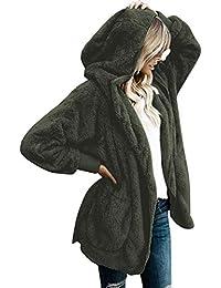 Suchergebnis auf für: Plüsch Jacke Grün: Bekleidung