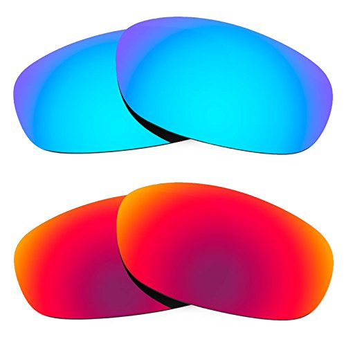 Revant Ersatzlinsen für Ray Ban Predator 2 RB2027 Polarisiert 2 Paar Kombipack K005