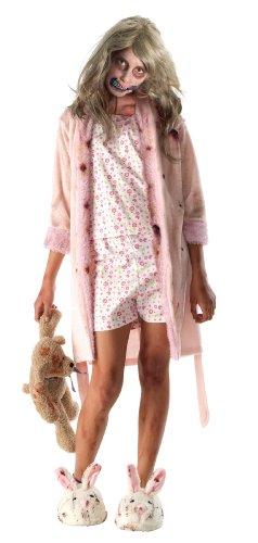 Für Kleine Kostüm Zombie Mädchen - Walking Dead Kostüm für kleines Zombie-Mädchen/-Kind, mit Nachthemd
