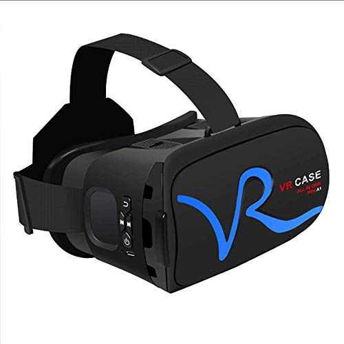 GZP Vr Headset, Touch Control Helm Virtual Reality Vr3d Brille Headset Stereo Box für Smartphones,B