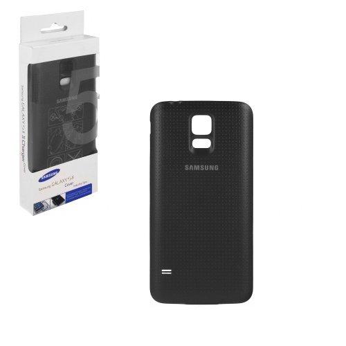 Samsung Galaxy S5 G900F Akkudeckel Akku Batterie Abdeckung Gehäuse charcoal black schwarz