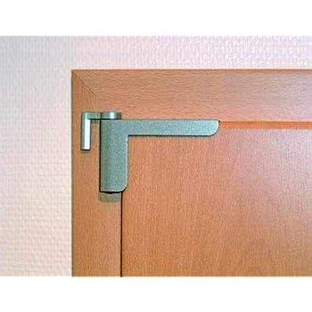 Clip-close mini ferme-porte blanc