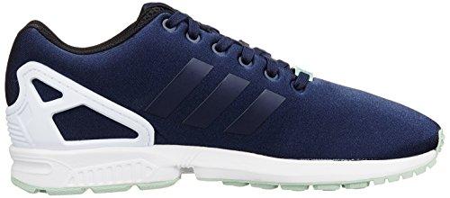 adidas Zx Flux Unisex-Erwachsene Sneakers Blau (Dunkelblau/Weiß)