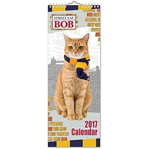 Street Gatto Bob sottile Calendario 2017