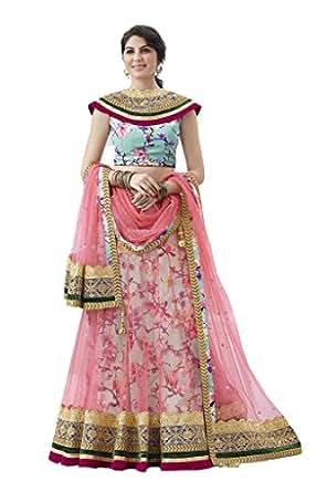 Mahotsav Women's Net Silk Lehenga Choli ( 6713 )