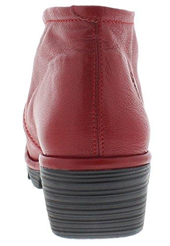 FLY London Damen Pert Desert Boots Rot