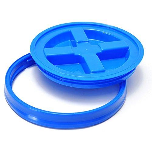 Ultra Gloss Wax (GritGuard GAMMA SEAL LID blau passend für Grit Guard Wash Buckets / Auf Deutsch: Eimerdeckel / Deckel für Grit Guard Eimer, auch passend für Chemical Guys, Meguiar´s oder andere Grit Guard US Eimer)