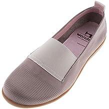 Maravillas de la mujer piel slip on shoe (a-6961)