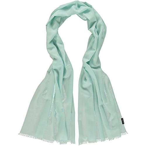 c4e3b83770dfe4 FRAAS Damen 658002 Schal, Türkis (Light Turquoise 610), Herstellergröße:  One Size