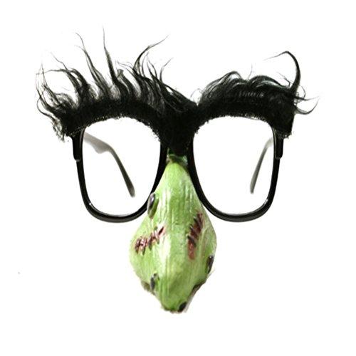 Good Night Clown Nase geformte Sonnenbrille Aprilscherz Kostüm Brille Requisiten