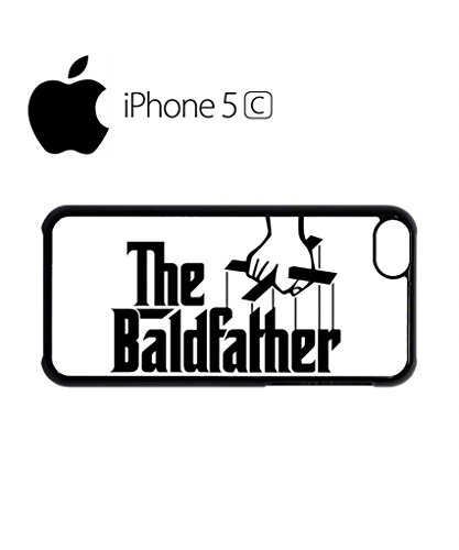 The Bald Father Cool Mobile Cell Phone Case Cover iPhone 5c Black Weiß
