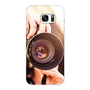 Special Premier Camera Multicolor Back Case Cover for Galaxy S7 Edge