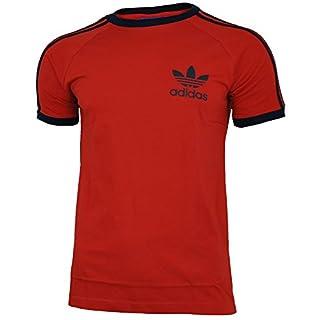 Adidas Essentials Men's Sport T-Shirt - Red - Medium