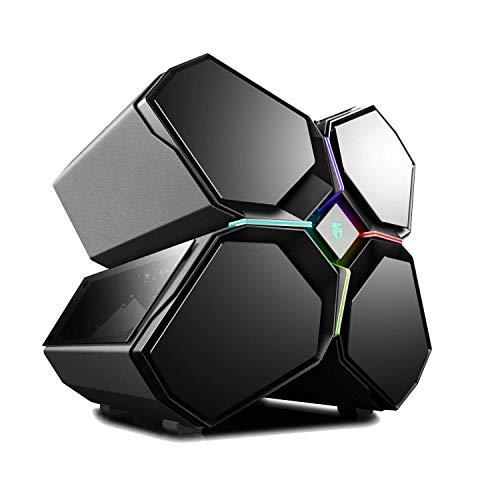 DEEPCOOL Quadstellar Caja PC Gaming Inteligente E-ATX con Sistema de...