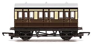 Hornby Gauge RailRoad GWR 4 Wheel Coach