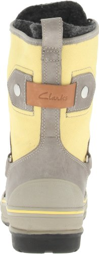 Clarks Muckers Squall Boot Grey/Yellow