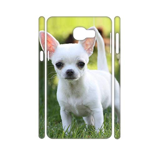 Babu Building Zum Samsung Galaxy A3 2017 Antiklopfmittel Für Kind Harte Pc-Hüllen Design Chihuahua (Moto E Greatshield)