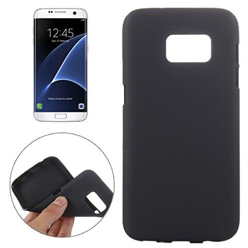 Tpu-fall Tab Samsung 3 (Schützen Sie Ihr Mobiltelefon Custer Textur Horizontale Flip Solid Farbe Leder Tasche mit Drei-Falten Halter für Lenovo TAB 2 A10-30 X30F, 10,1 Zoll für Samsung Handy ( Farbe : Schwarz ))