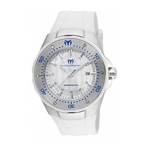technomarine-mens-manta-48mm-white-silicone-band-steel-case-automatic-silver-tone-dial-watch-tm-2150