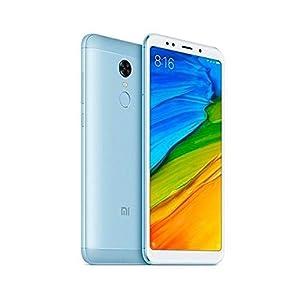 Xiaomi Redmi 5 Plus, Telefono Movil Dual SIM, 4 GB RAM, 64 GB ROM, blue [Global version]
