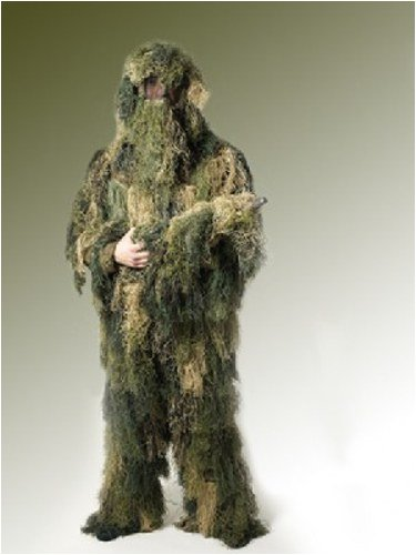 Ghillie Suit Anti Fire Woodland Fadenghillie Xl-xxl zu armyoutdoorshop