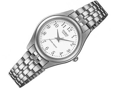 Casio LTP-1129PA-7BEF - Reloj de cuarzo para mujer, con correa de acero inoxidable, color plateado