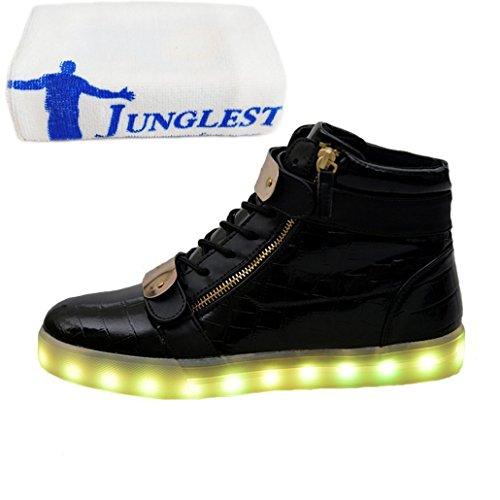 (Présents:petite serviette)JUNGLEST® - Baskets Lumin Haut-dessus C noir