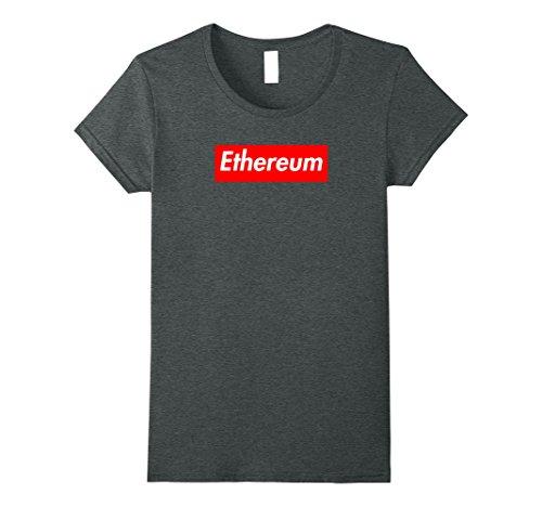Mujer Ethe Ethereum Premium Camiseta Heather oscuro grande