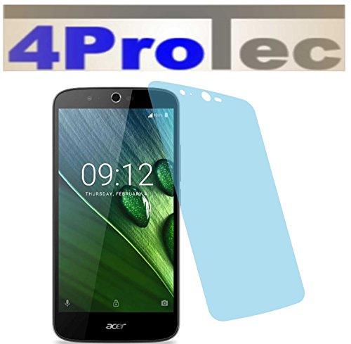 4ProTec 2X ANTIREFLEX matt Schutzfolie für Acer Liquid Zest Plus Premium Bildschirmschutzfolie Displayschutzfolie Schutzhülle Bildschirmschutz Bildschirmfolie Folie