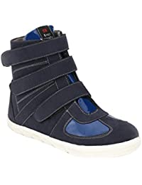 Wave Walk Black Synthetic Men's High Top Shoes - B01M0YC7LT