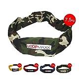 LOOPMAXX Gewichtsgurt Trainigsgerät Damen & Herren Workout 7,5 Kg Camouflage