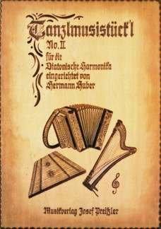 TANZLMUSISTUECKL 2 - arrangiert für Hackbrett [Noten / Sheetmusic]