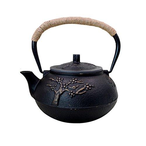 Théière en fonte (tetsubin) style japonais avec...