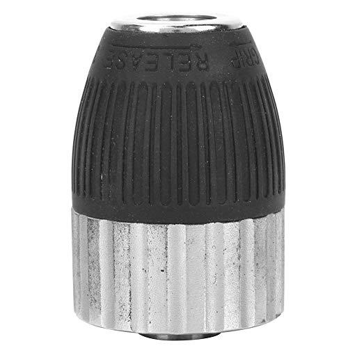 Keyless Drill Chuck Adapter 3/8-24UNF 2-13mm, Schnellwechsel-Adapter Conventer, Schlagschrauber-Umrüstwerkzeug, für Schlagbohrmaschinen -